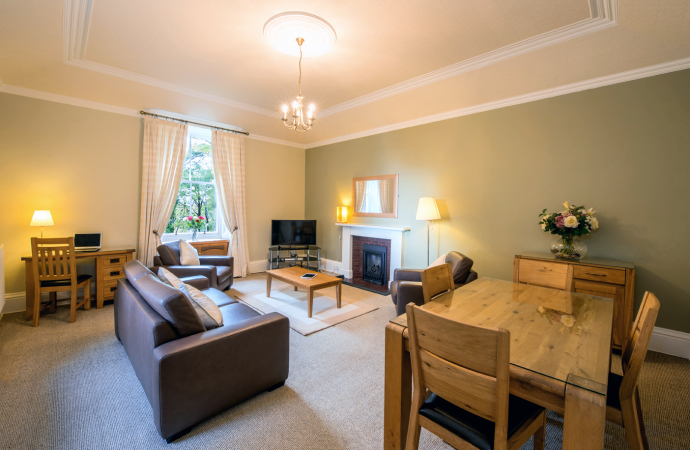 Ochil Apartment, Northcliff Holiday Cottages and Apartments, North Queensferry, Fife