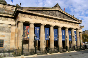 The National Gallery of Scotland, The Mound, Edinburgh